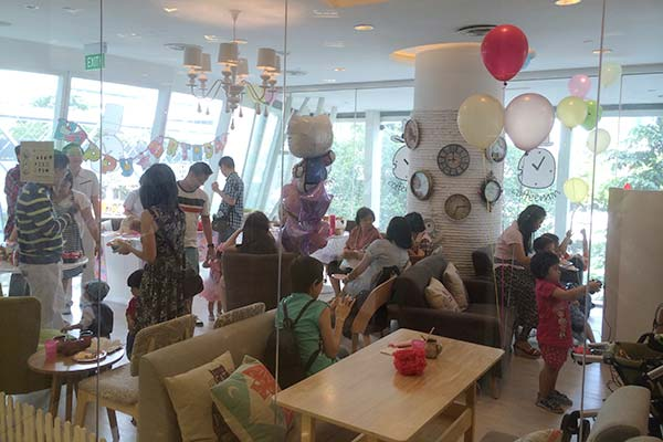 Baby shower venue ideas reviews singapore guide to for Baby shower decoration singapore